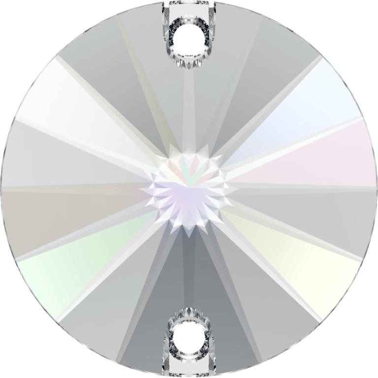 rivoli, swarovski crystal AB sew on stone, crystal 3200 001ab sew on stone, swarovski round sew on stone, swarovski round 3200, swarovski round 10mm, swarovski round 12mm,swarovski round 14mm, swarovski round 16mm,swarovski round 18mm