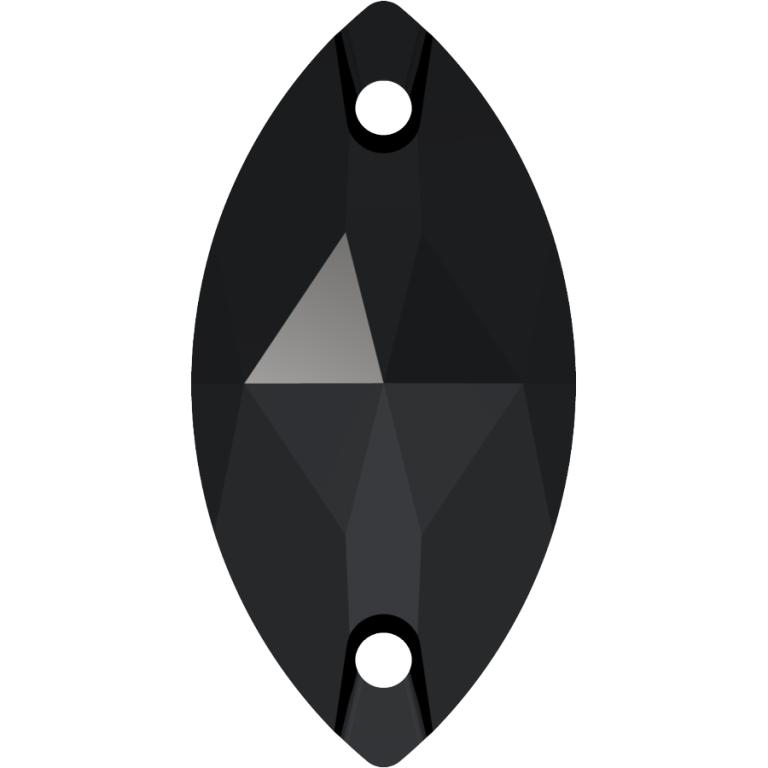 navette, swarovski oval sew on stone, jet, jet 280, jet oval 3223, 12x6 mm,18x9 mm, swarovski best seller, irish dancing stones