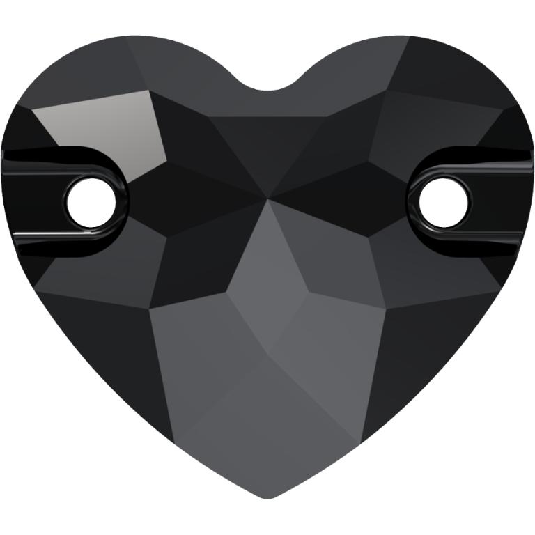 swarovski heart, swarovski heart sew on stone, swarovski heart 3259, swarovski heart jet 280, swarovski best seller, irish dancing stones