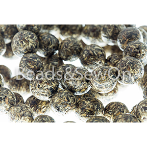 Eco Beads round 12mm Brown