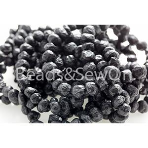 Eco Beads Round 8mm Black