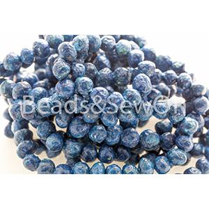 Eco Beads Round 8mm blue