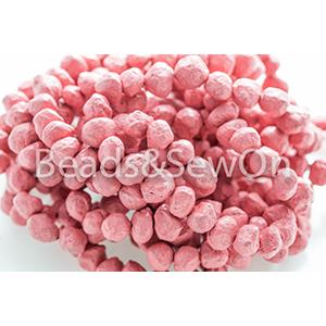 Eco Beads Round 8mm Pink