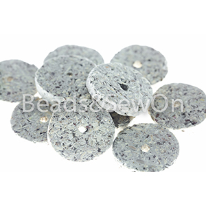 Eco beads Disc Stone