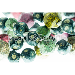 Eco Beads Fac Round Mix Black