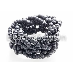 Eco Beads Plait Black