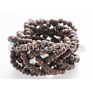 Eco Beads Plait Brown