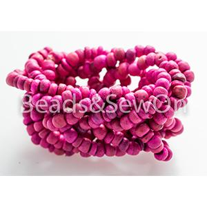Eco Beads Plait pink