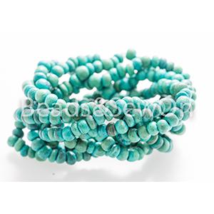 Eco Beads Plait Turquoise