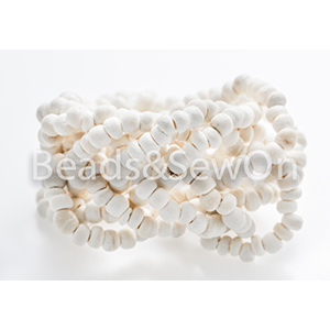 Eco Beads Plait White
