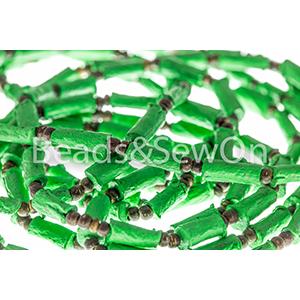 Eco Beads Tube Green