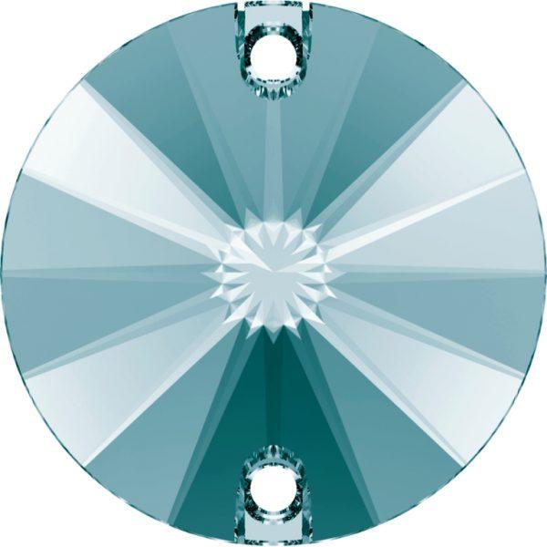 Swarovski Round Sew On Stone 3200 Light Turquoise 263