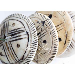Coquillage Round Shell-6487 WbRy